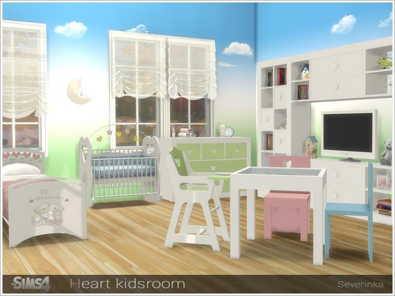 Heart kidsroom - NEEDS MOD FOR CRIB TO WORK