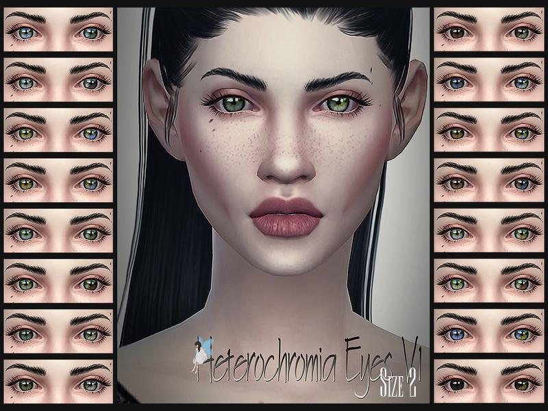 Heterochromia Eyes V1 Size 2
