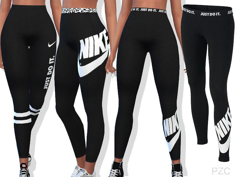 High Waisted Nike Summer Pants