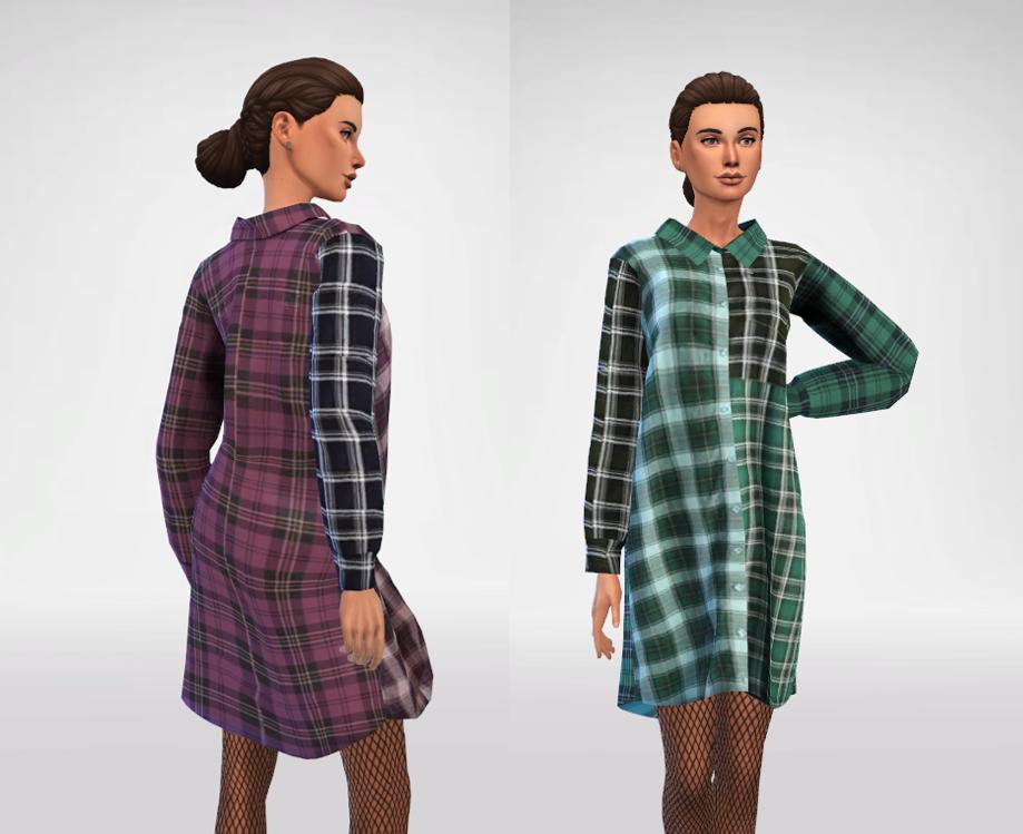 JIJI - Oversized Shirt Dress