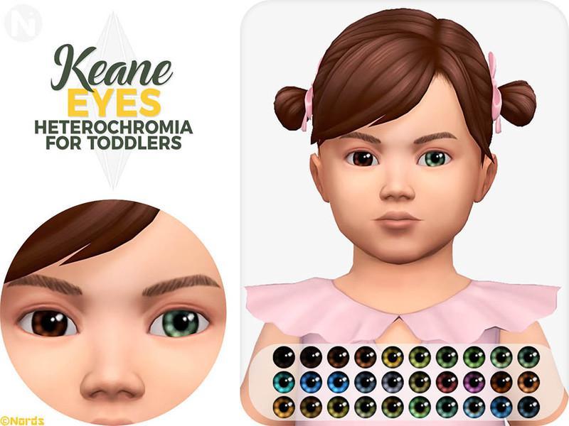 Keane Heterochromia for for PU