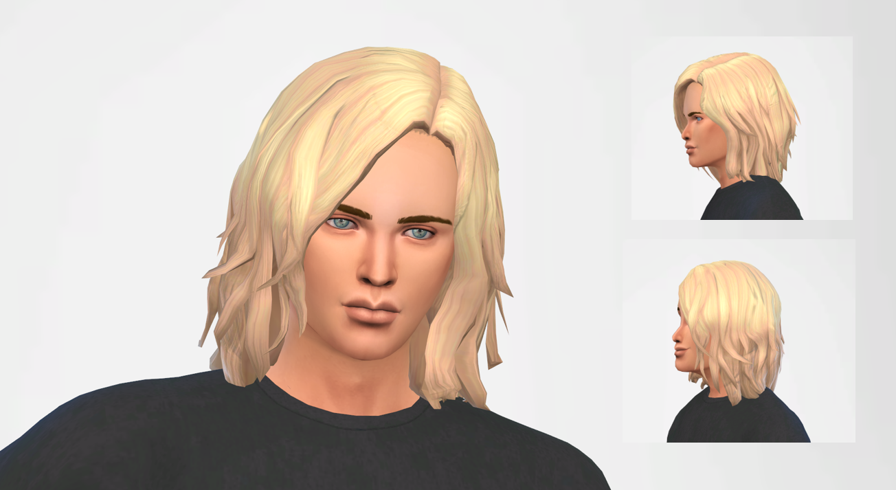 hair mod for males