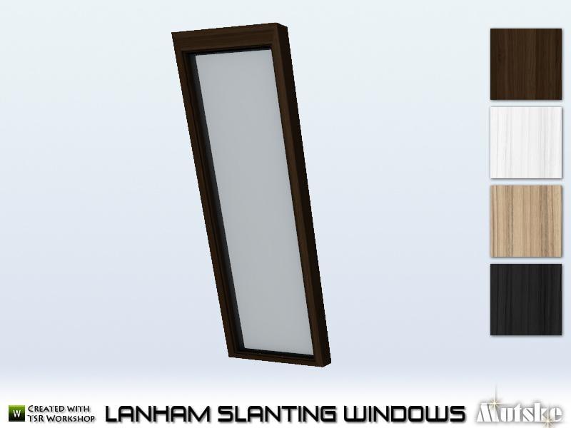 Lanham Window Tall Full Slanting 1x1