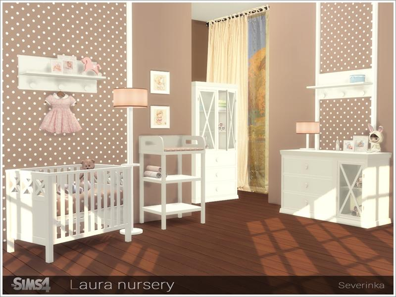 The Best Baby Cribs CC & Mods -