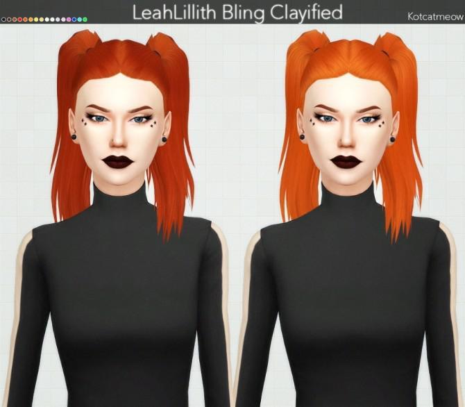 clayified hair set