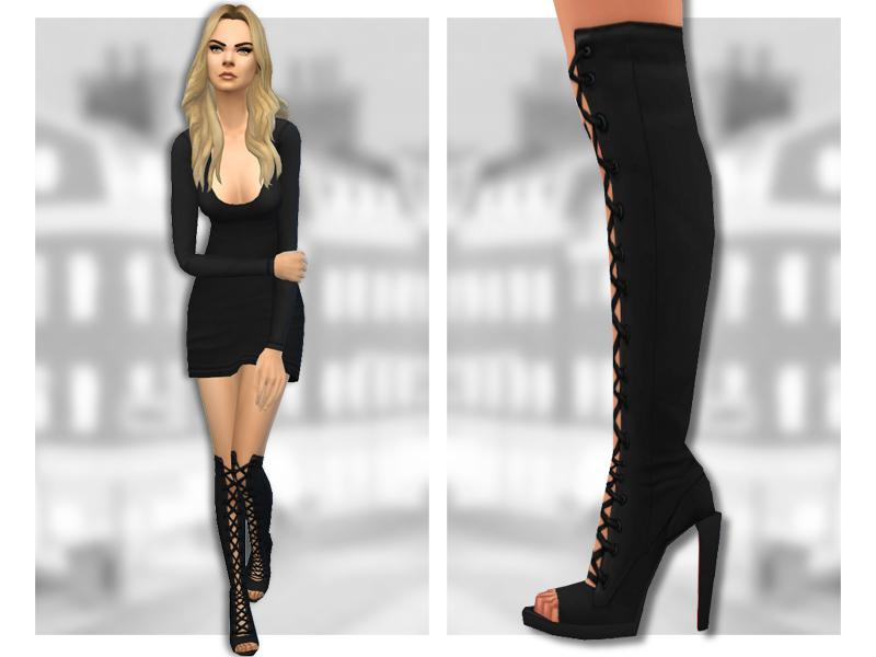 Lilith Boots - Knee High