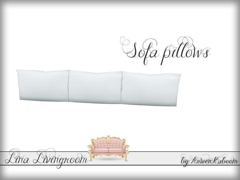 Lina Livingroom - Sofa Pillows