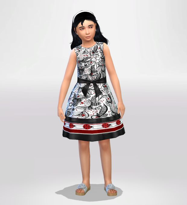 Little Lady Formal Dress