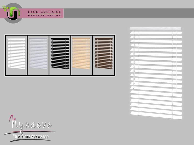 Lyne Curtains - Blinds V4