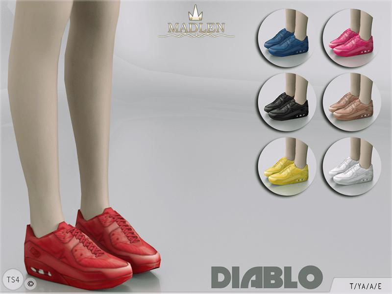 Madlen Diablo Sneakers