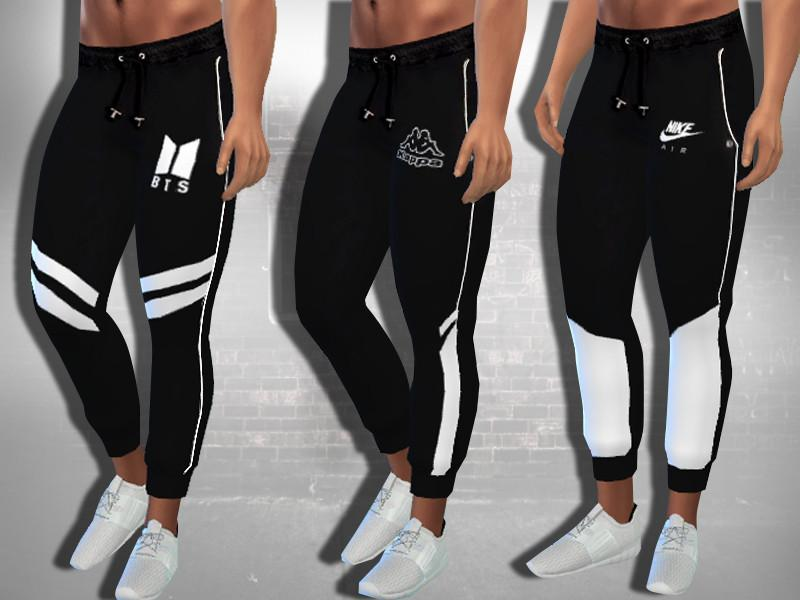 Male Sims Athletic Joggers