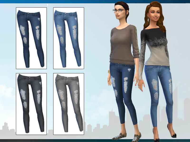 Maxis Match Skinny Jeans
