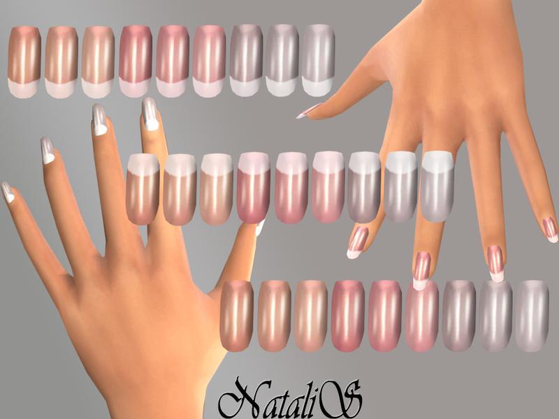 NatalIS_TS4 French long nails FT -FE