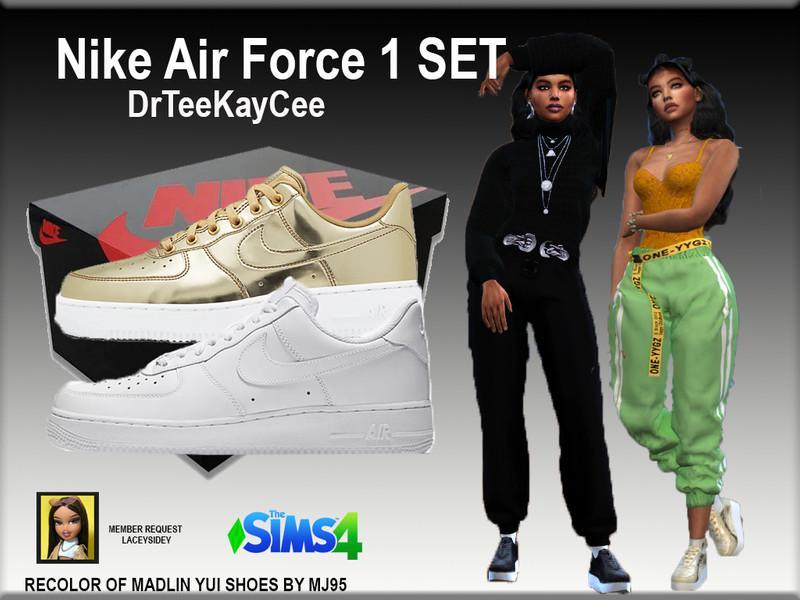 Nike Air Force 1 Set - NEEDS MESH