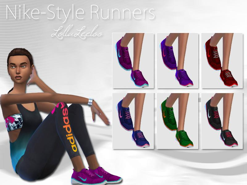 Nike Style Runners by LollaLeeloo