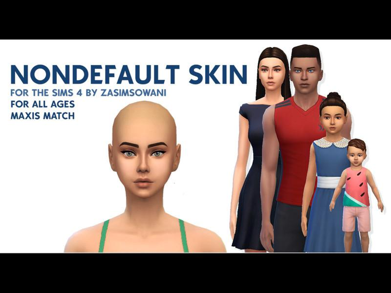 NonDefault Maxis Match Face Overlay