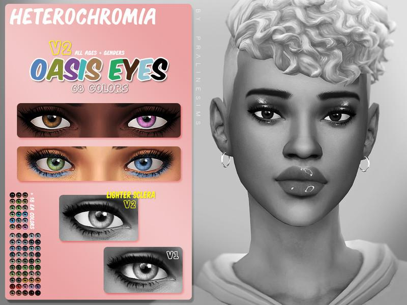 Oasis Eyes N155 V2 HETEROCHROMIA