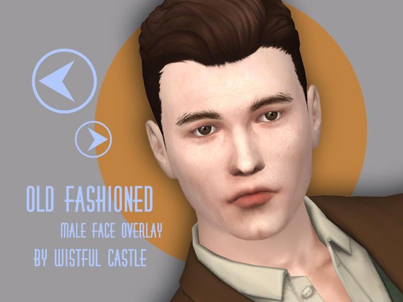 Old fashioned - face overlay