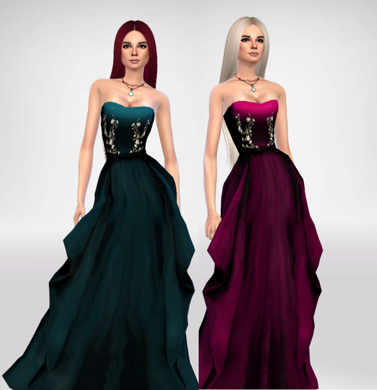Oliva Formal Dress - Mesh needed