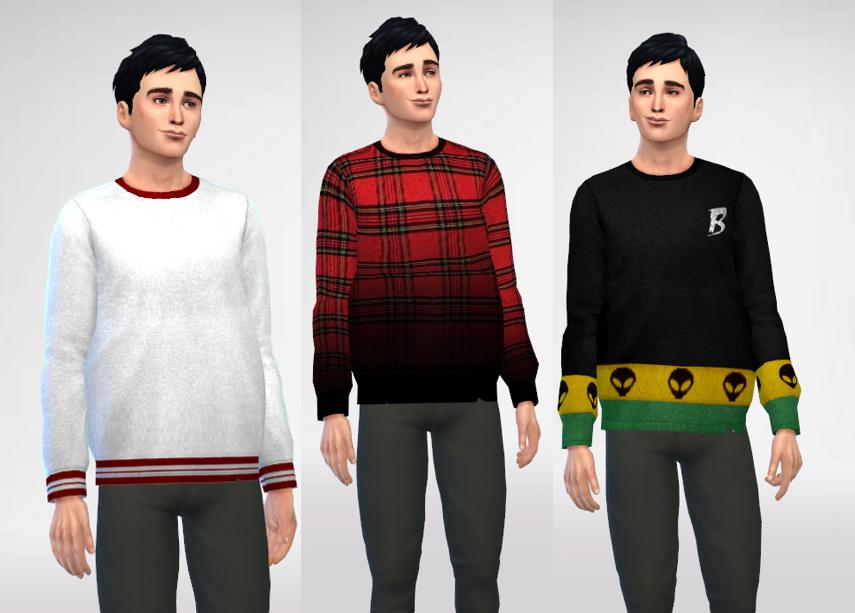 Oversized sweatshirts