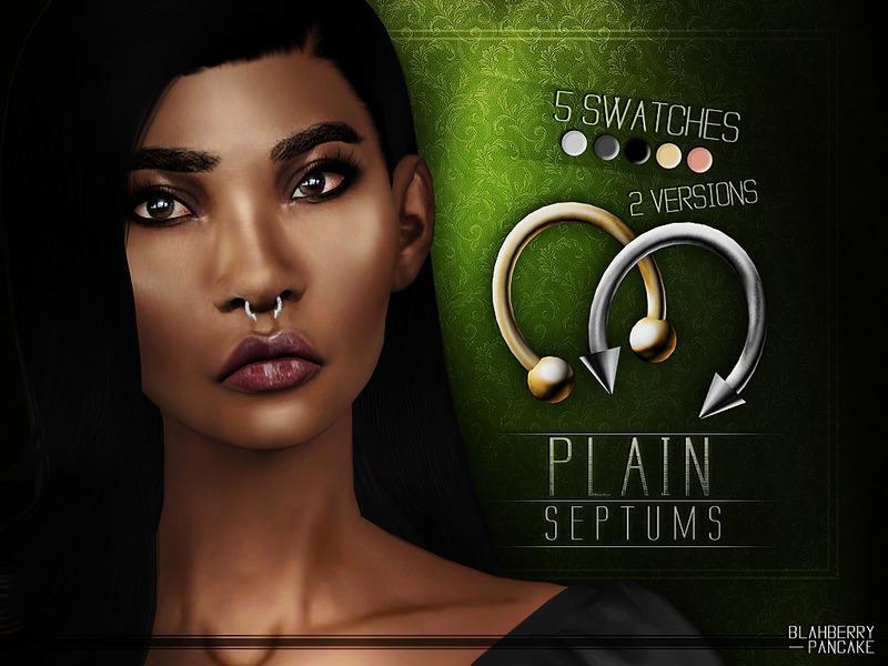 Plain Septums