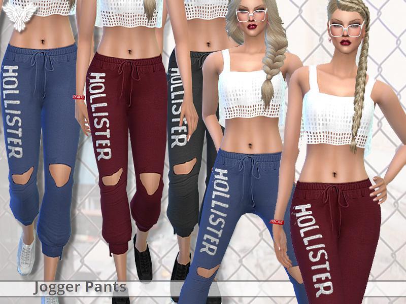 PZC_Realistic Jogger Pants