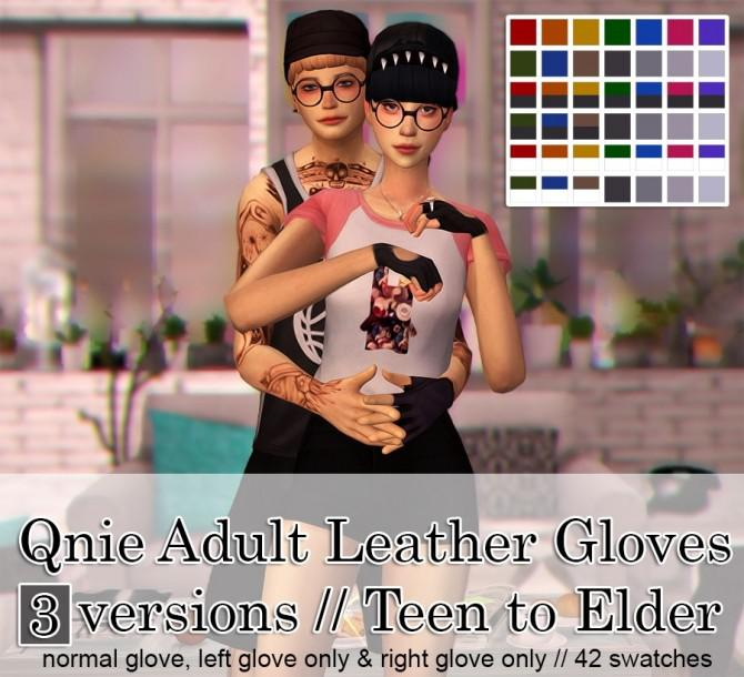 Qnie Leather Gloves Set