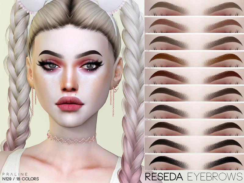 eyebrows set