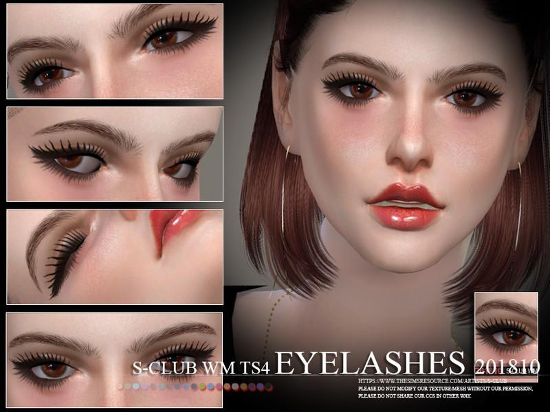 eyelashes mod
