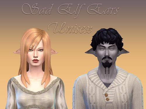 Sims 4 Elf Ears Snootysims