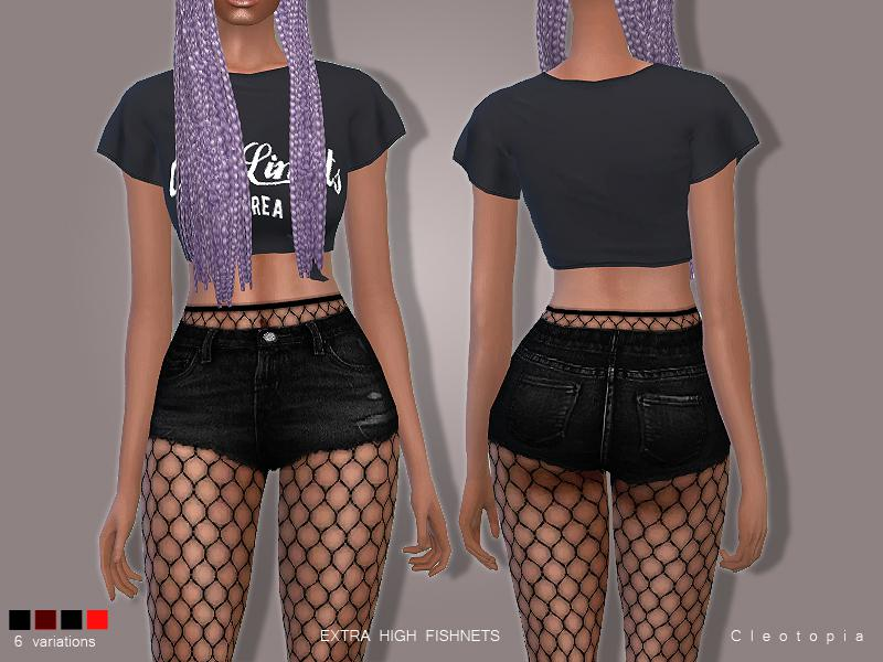 Set78- High Waisted Fishnet Tights