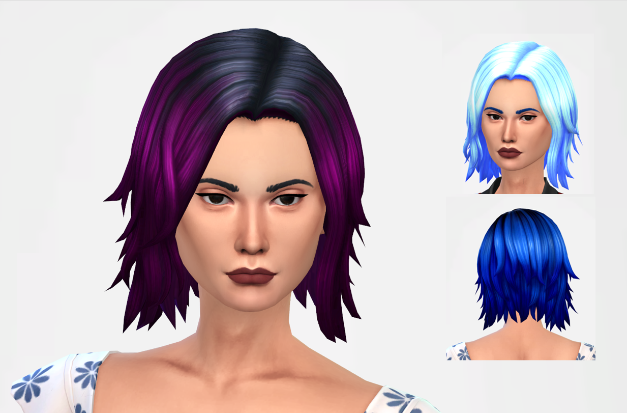 Short Hair For Toddlers Kids Female And Male Snootysims