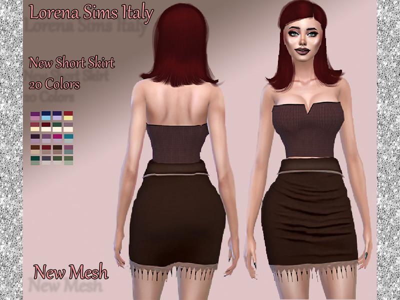 Short Skirt Indian style