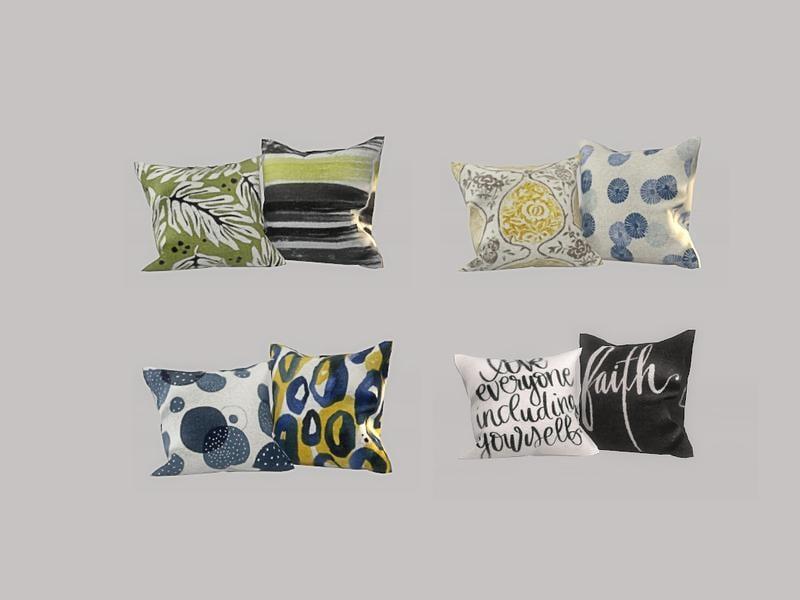 Simple Kitchen - Pillows