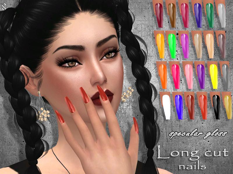 Sintiklia - Long cut nails