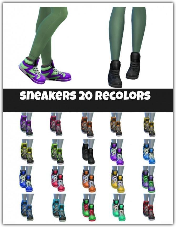 Sneakers 20 recolors