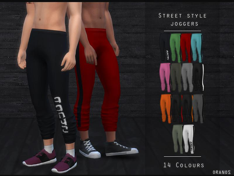 Street Style Joggers