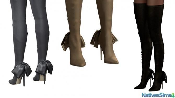 Thigh High Boots No Slider