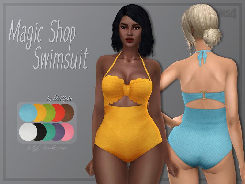 Trillyke - Magic Shop Swimsuit