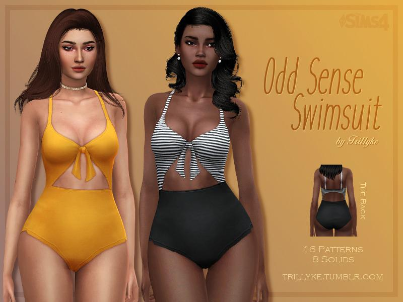 Trillyke - Odd Sense Swimsuit