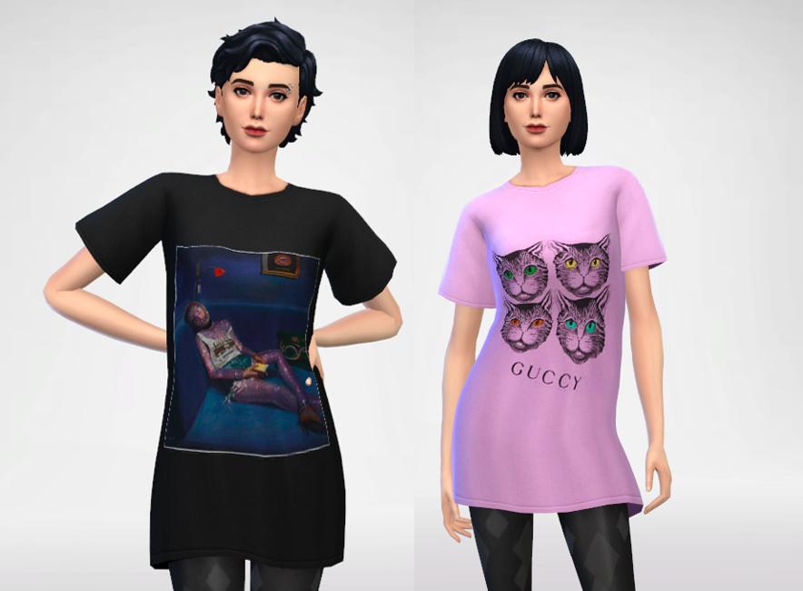 Trillyke - Oversized T-Shirt Dress
