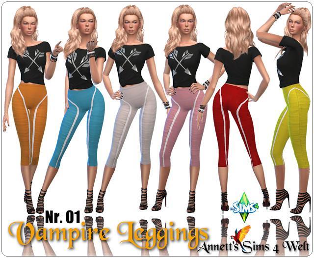 Vampire Leggings Nr. 01