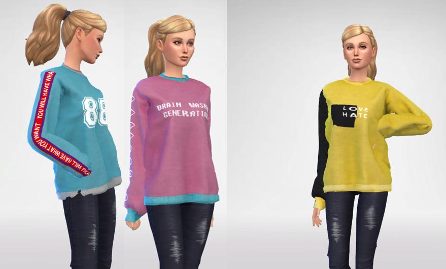 YUNI - Oversized Sweatshirt