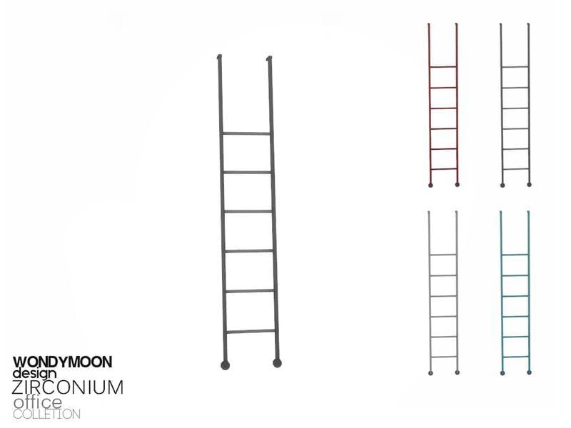 Zirconium Shelf Stairs