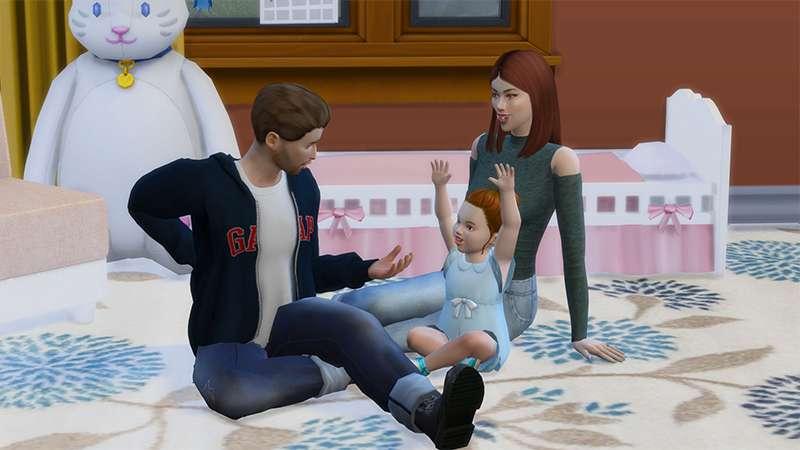 Gameplay screenshot of the sims 4 random legacy challenge
