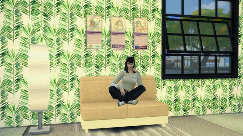 Gameplay screenshot of the sims 4 zodiac challenge