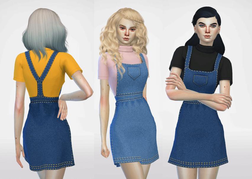 Sims 4 Female Overalls