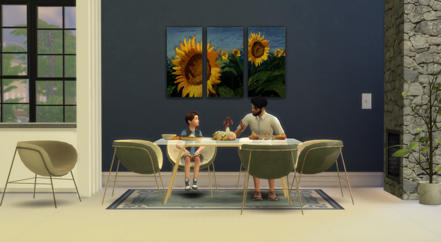 sims 4 dining chairs