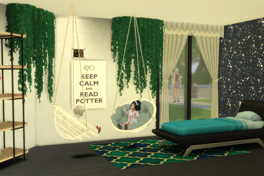 sims 4 hanging chair