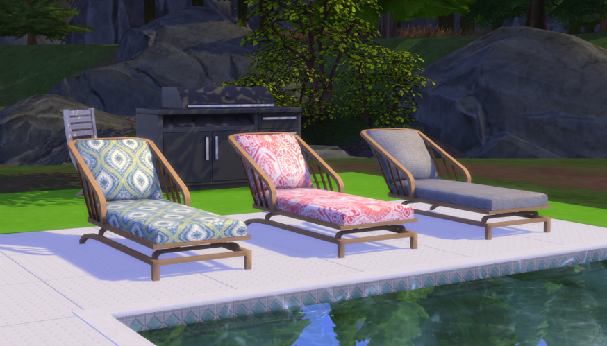 sims 4 pool chairs